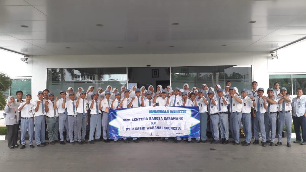 Kunjungan Industri ke PT. Akashi Wahana Indonesia