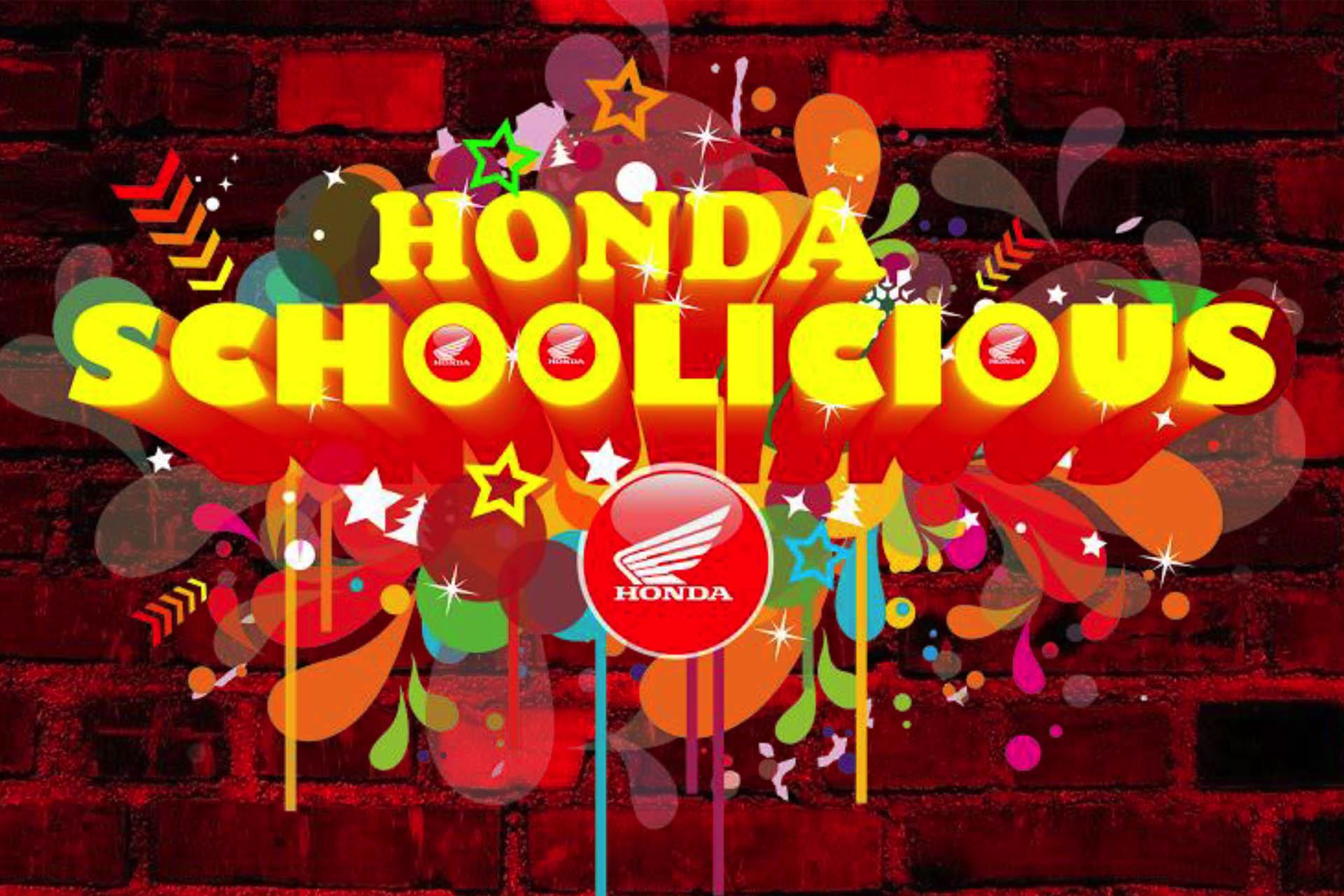 Honda Schoolicious – 30 April 2019
